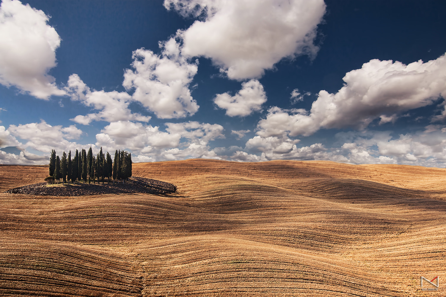 Photograph D'orcia waves by Noam Mymon on 500px