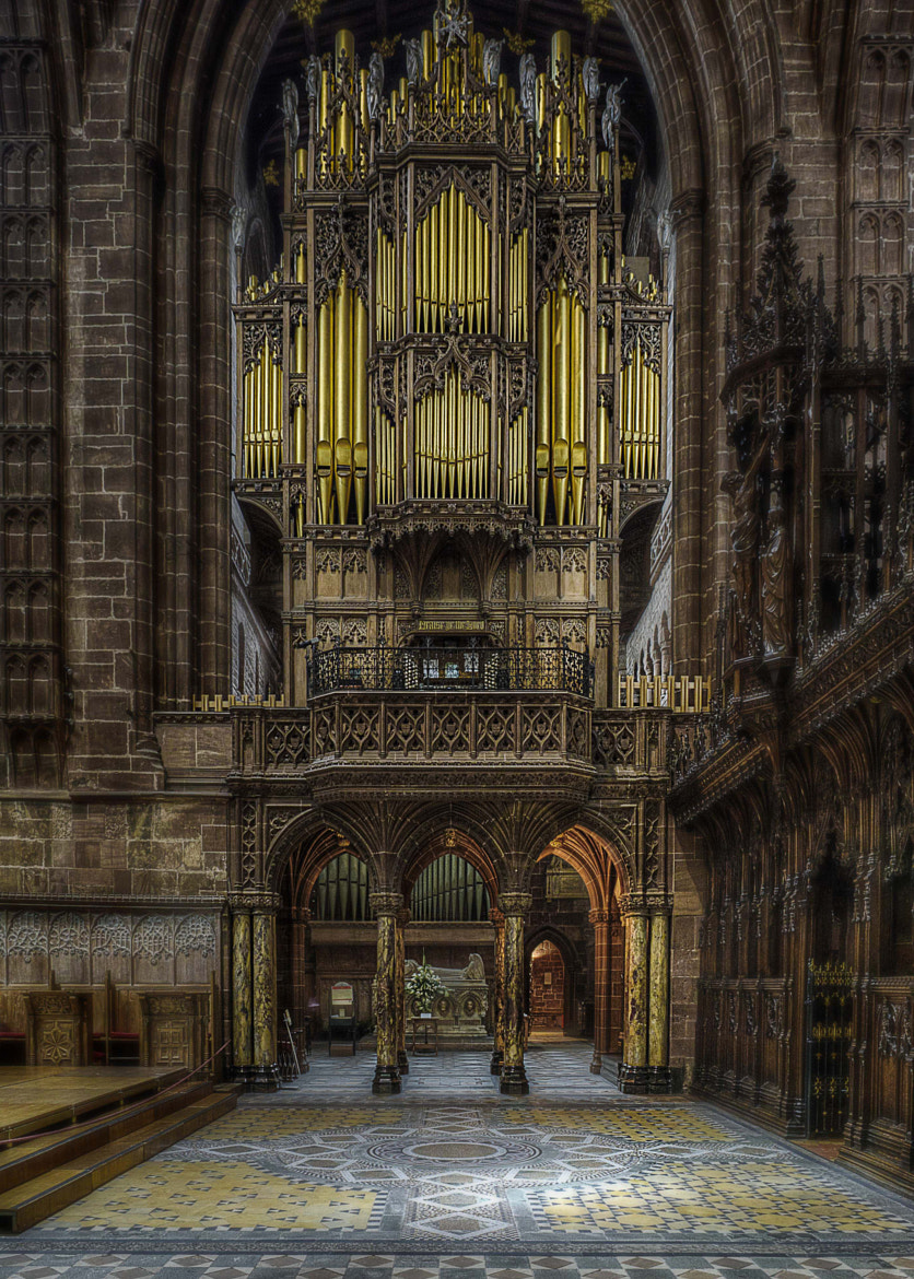 Photograph The Organ by Dave Wood on 500px