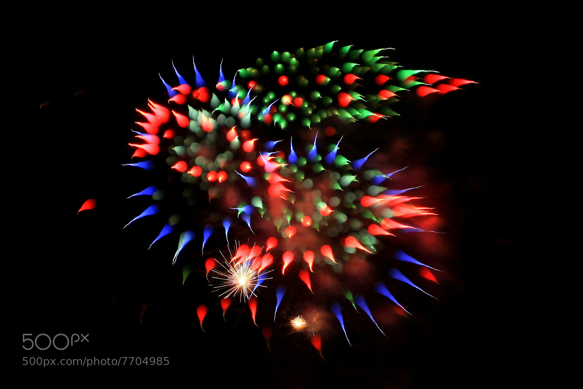 Photograph Cosmic Dragon (Fireworks) by yume . on 500px