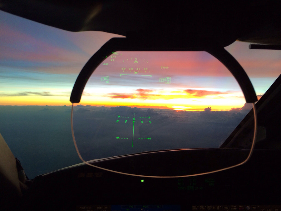 Photograph Through a pilot's eyes.. by Victor Haas on 500px