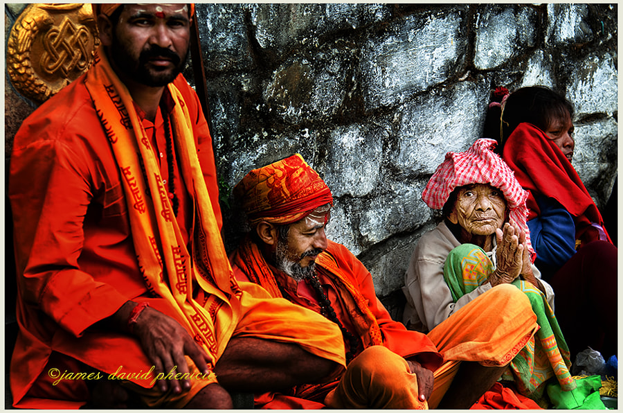 Nepal Series:  Temple Beggars