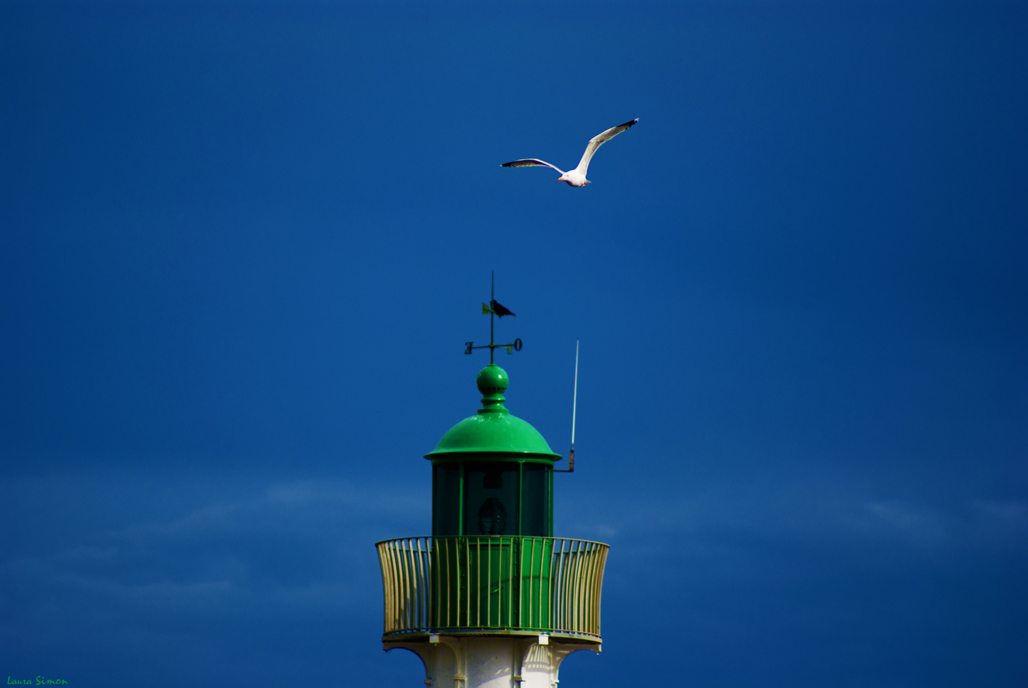 Photograph Green lighthouse by Laura Simon on 500px
