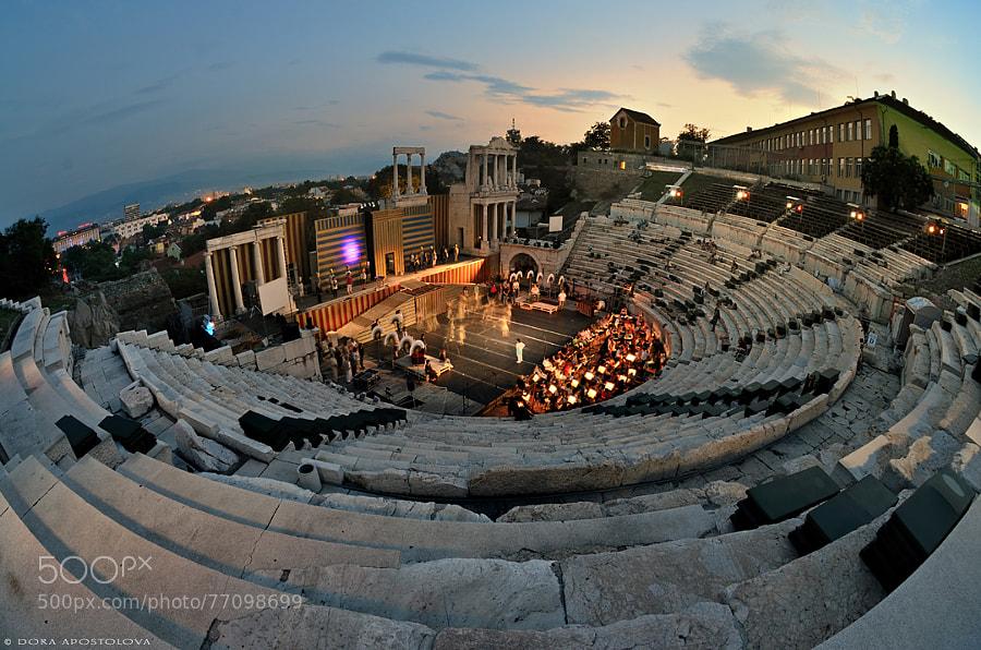 Photograph Opera Evenings by Dora Apostolova on 500px