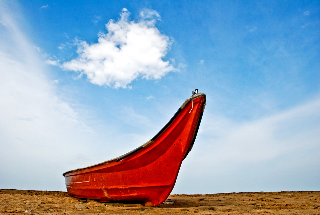 Photograph With clouds, I shall sail by Prakash Bajracharya on 500px