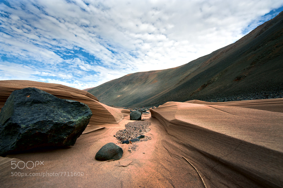 Photograph Peru. Sand river by Ghenadie Shatov on 500px