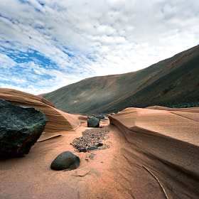 Peru. Sand river by Ghenadie Shatov (FILOSOF77)) on 500px.com