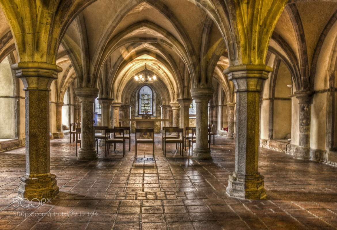 Photograph The Crypt by Steve Clancy on 500px
