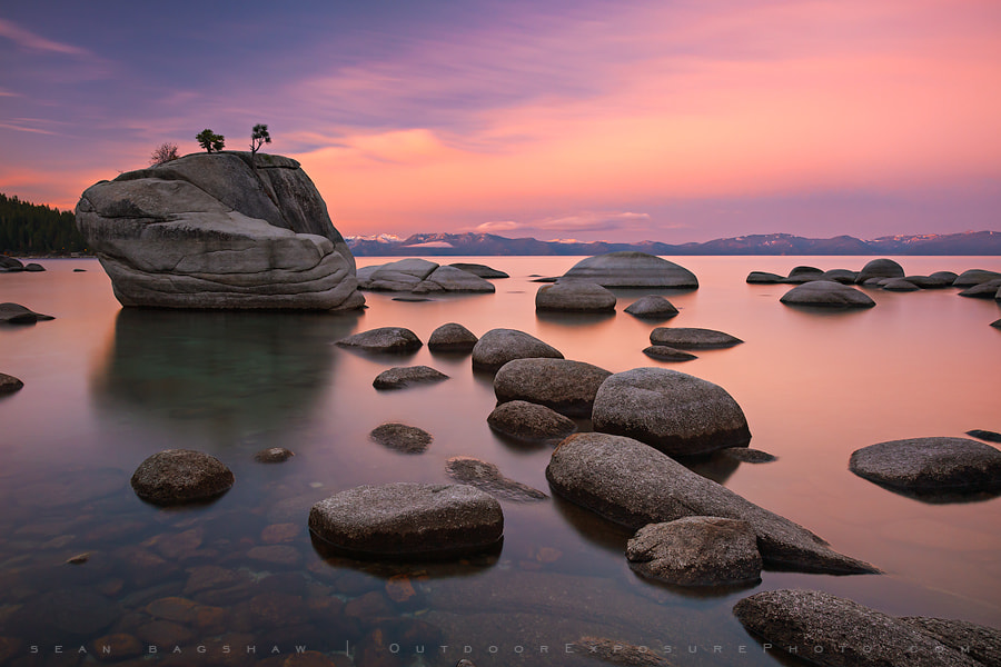 Photograph Water, Stone and Sky by Sean Bagshaw on 500px
