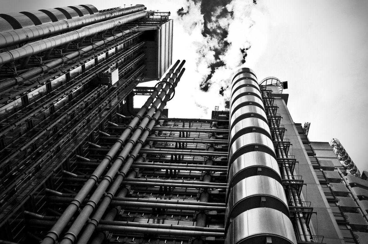 Photograph Lloyd's London by Luigi Giannino on 500px