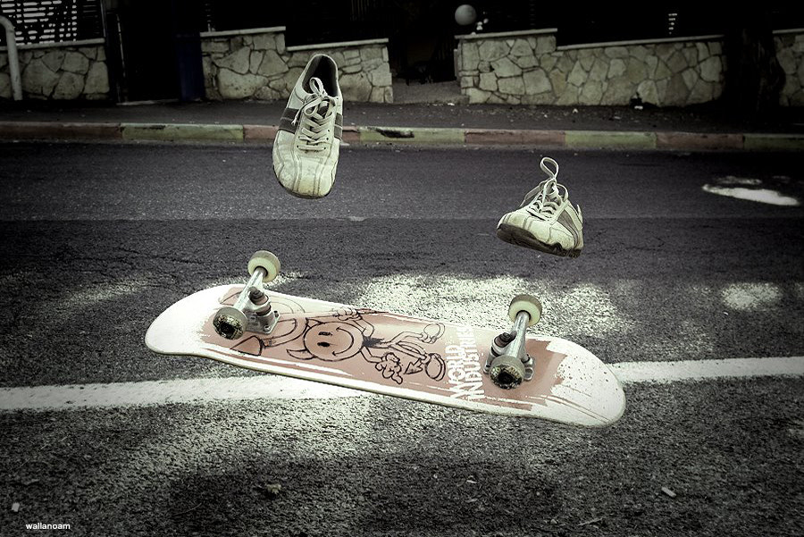 Photograph the invisible skater by walla noam on 500px