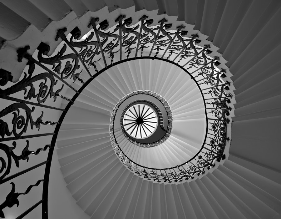 tulip staircase greenwich london