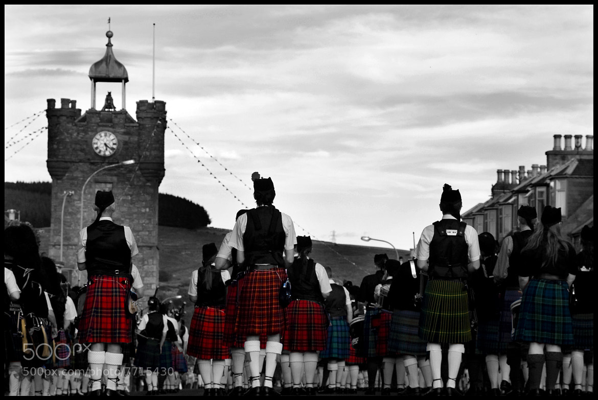 Photograph Touch of Tartan by Jayne Strathdee on 500px