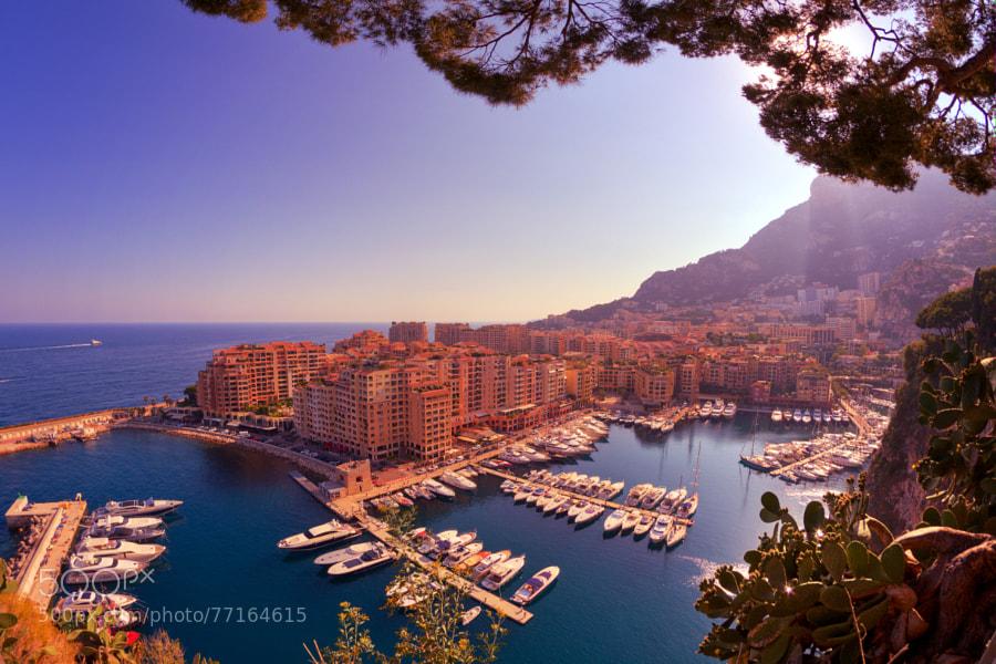 Monaco Port de Fontvieille by majewski