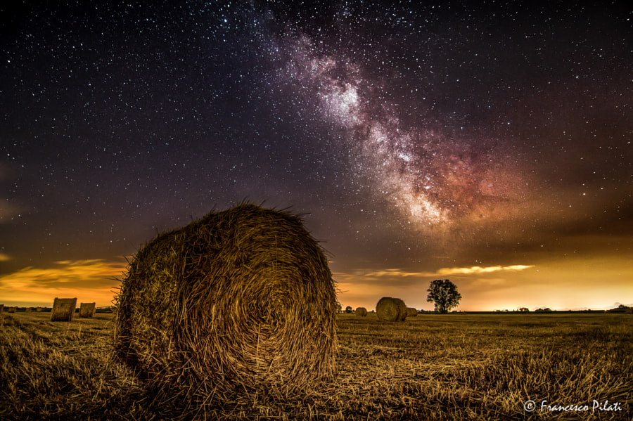 Photograph Country Night Stars by Francesco Pilati on 500px