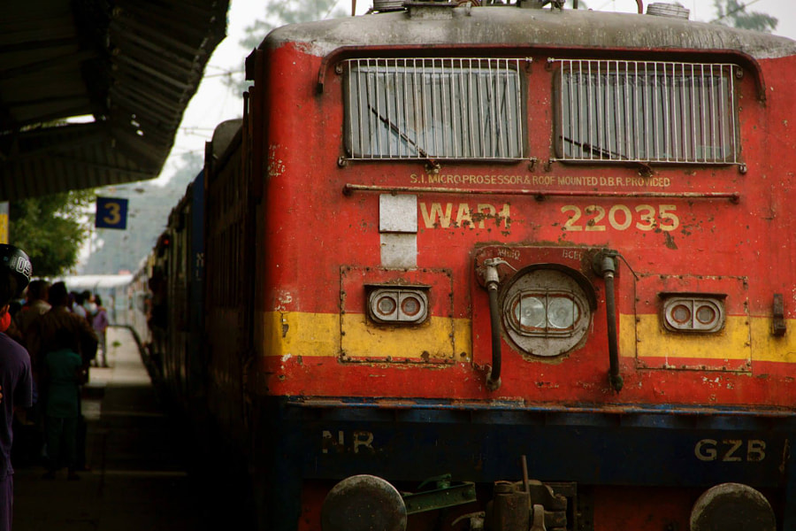 Roorkee Railway Station by Kush Tandon on 500px.com
