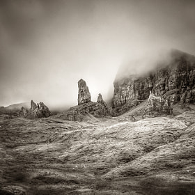 Old Man of Storr – Isle of Skyer, Schottland