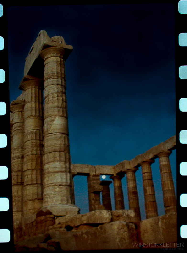 Photograph Temple of Poseidon by Winston Kletter on 500px