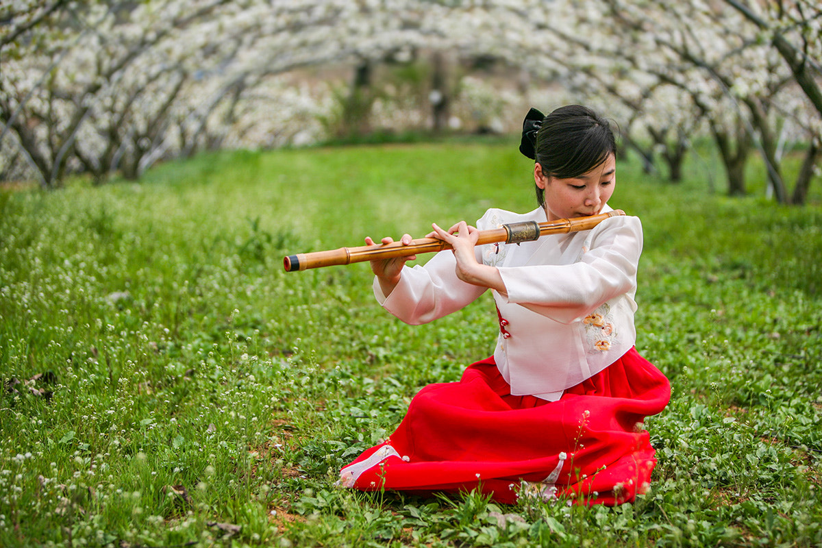 Photograph Playing the Spring by Jungshik Lee on 500px