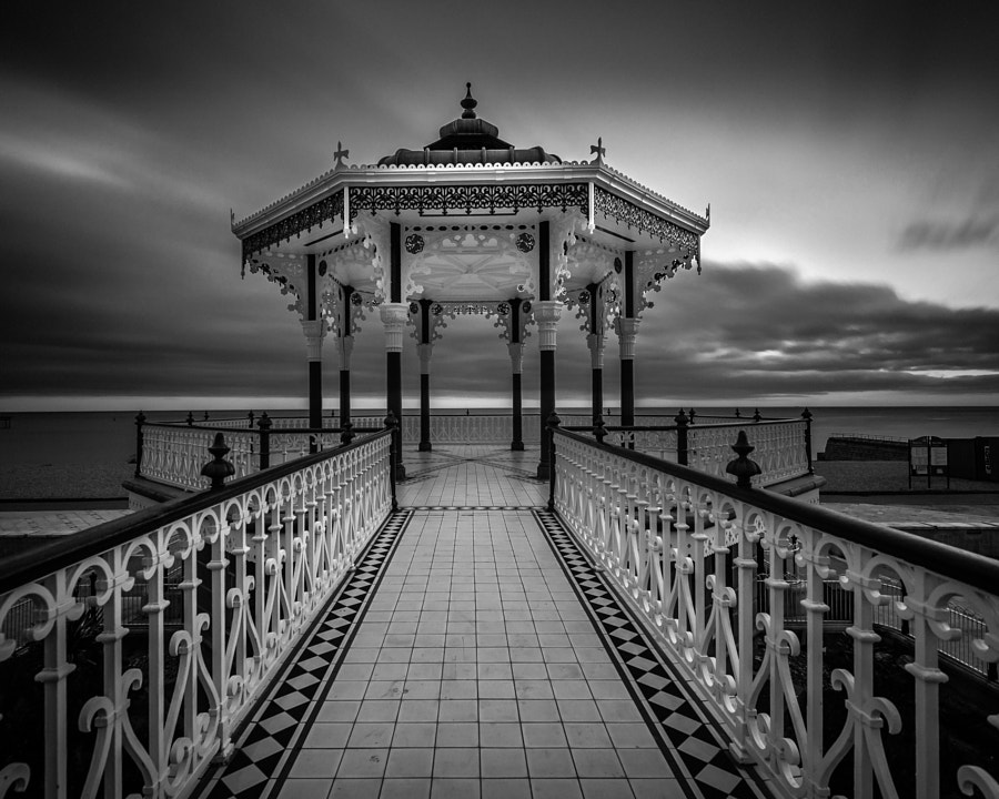 Brighton Bandstand Long exposure