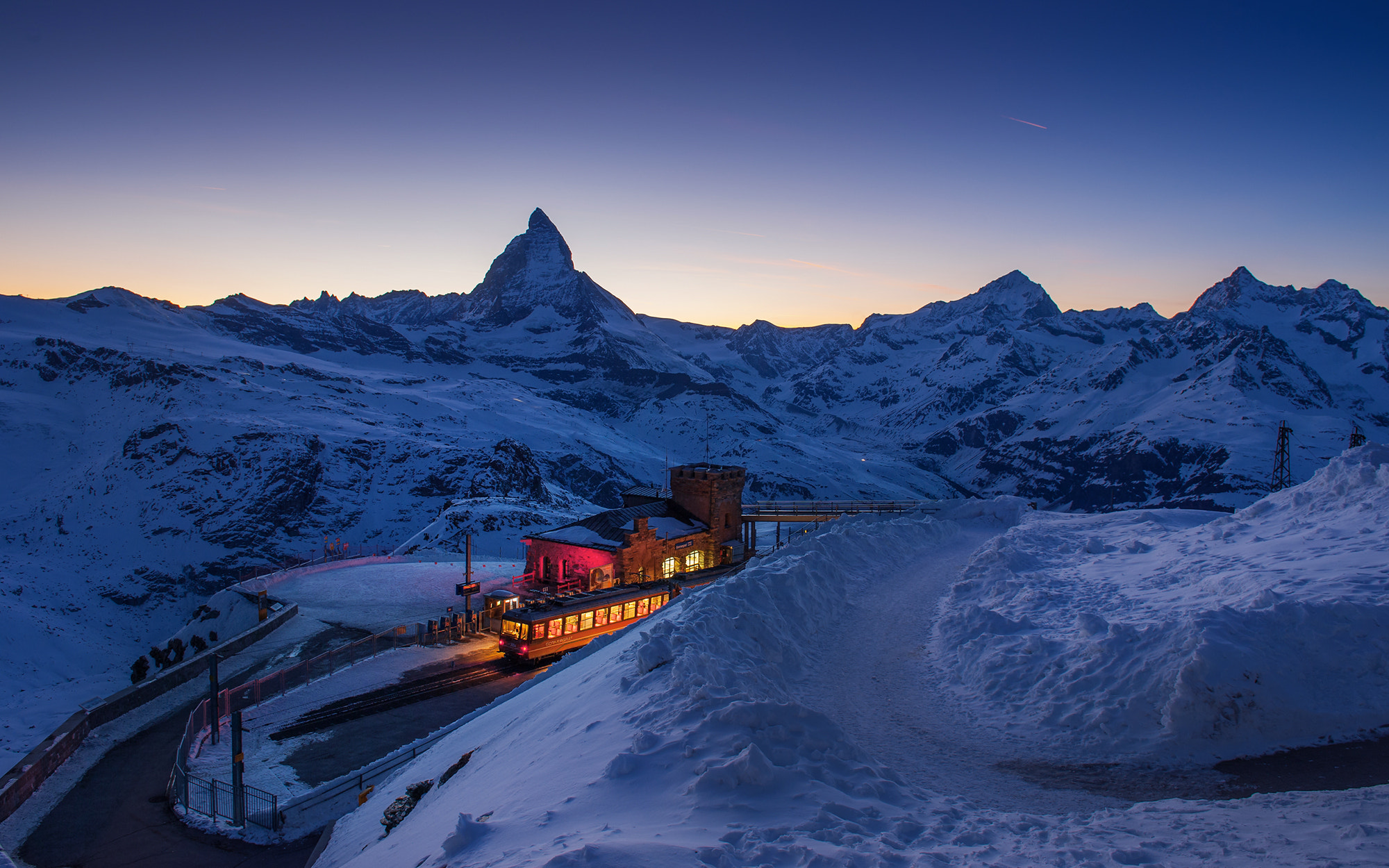Photograph Matterhorn twilight by Coolbiere. A. on 500px
