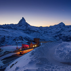 Matterhorn twilight by Coolbiere. A. (Vorrarit)) on 500px.com