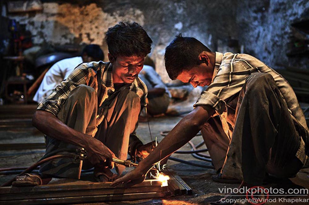 Photograph Work in Fire. by Vinod Khapekar on 500px