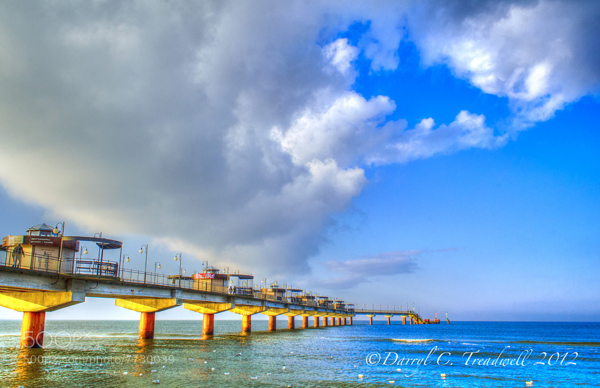 Photograph Pier at Miedzyzdroje, Poland by Treadwell Images on 500px
