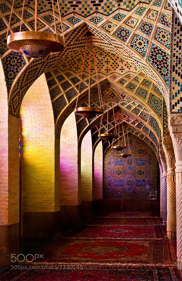 Photograph Nasir al Mulk mosque by Jaroslava Melicharová on 500px