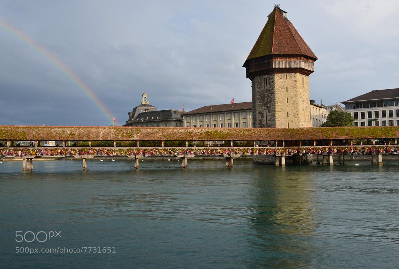 Photograph Luzern's Rainbow by Tamara Al Bahri on 500px
