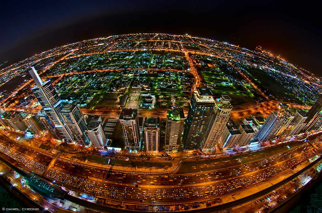 Photograph Rush Hour on Planet Dubai by Daniel Cheong on 500px