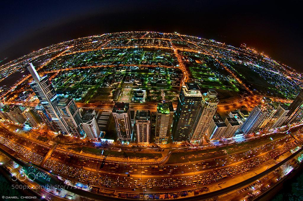 Photograph Rush Hour on Planet Dubai by Daniel Cheong on 500px