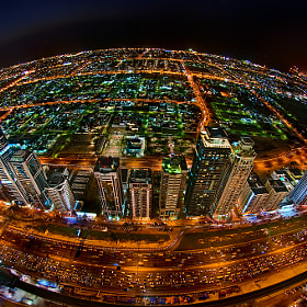 Rush Hour on Planet Dubai by Daniel Cheong (DanielCheong1)) on 500px.com