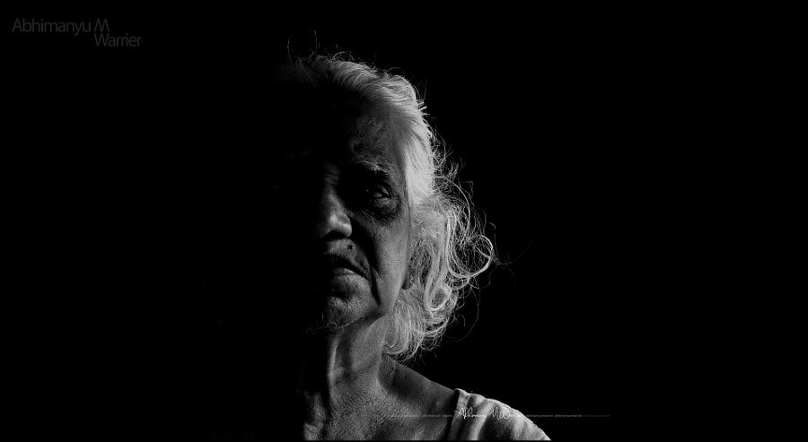 Old Age in Darkness by Abhimanyu M Warrier on 500px.com