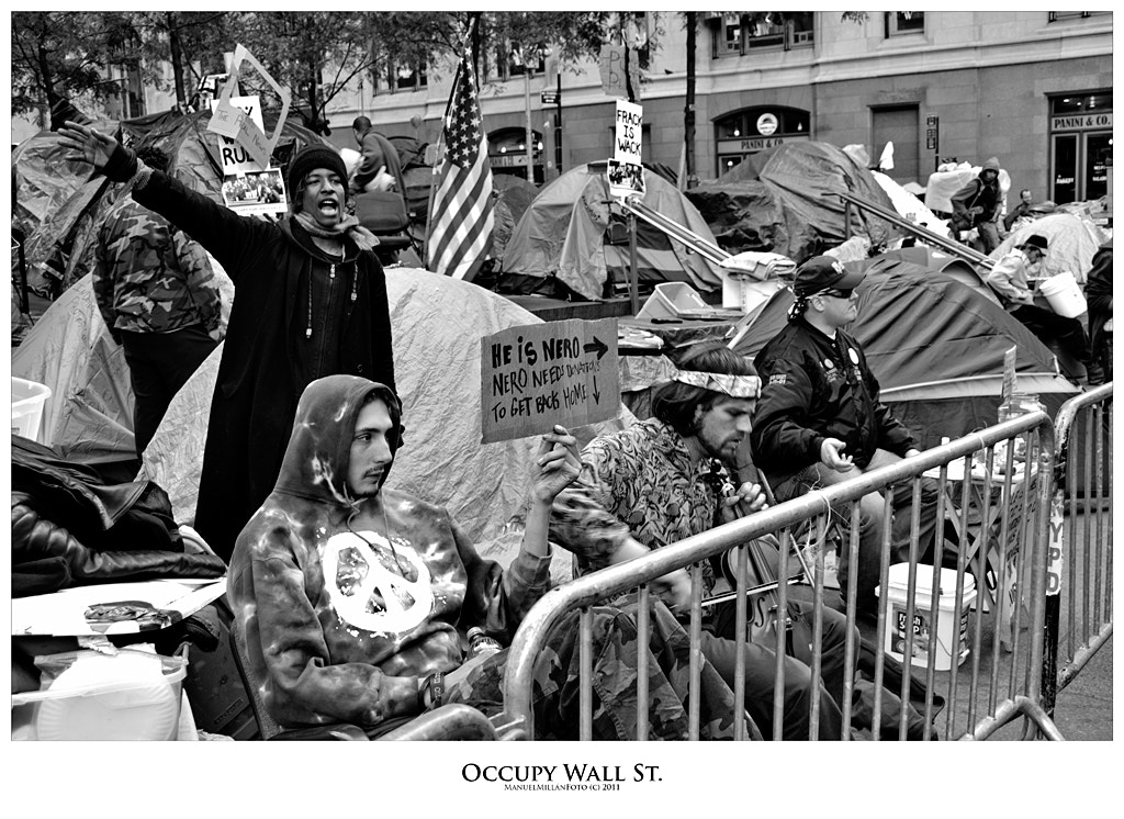Photograph Occupy Wall St. by Manuel Millán on 500px