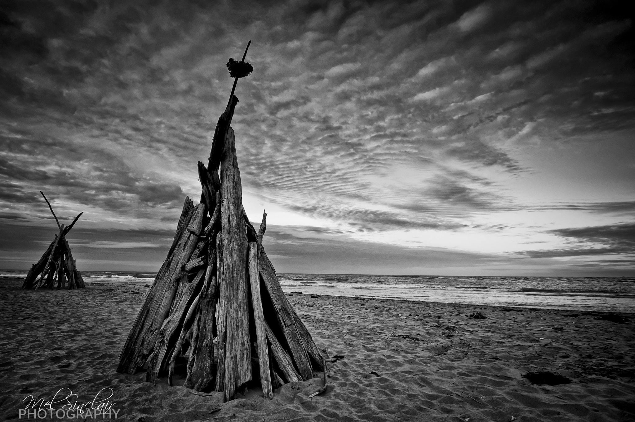 Photograph Two Teepee's by Mel Sinclair on 500px