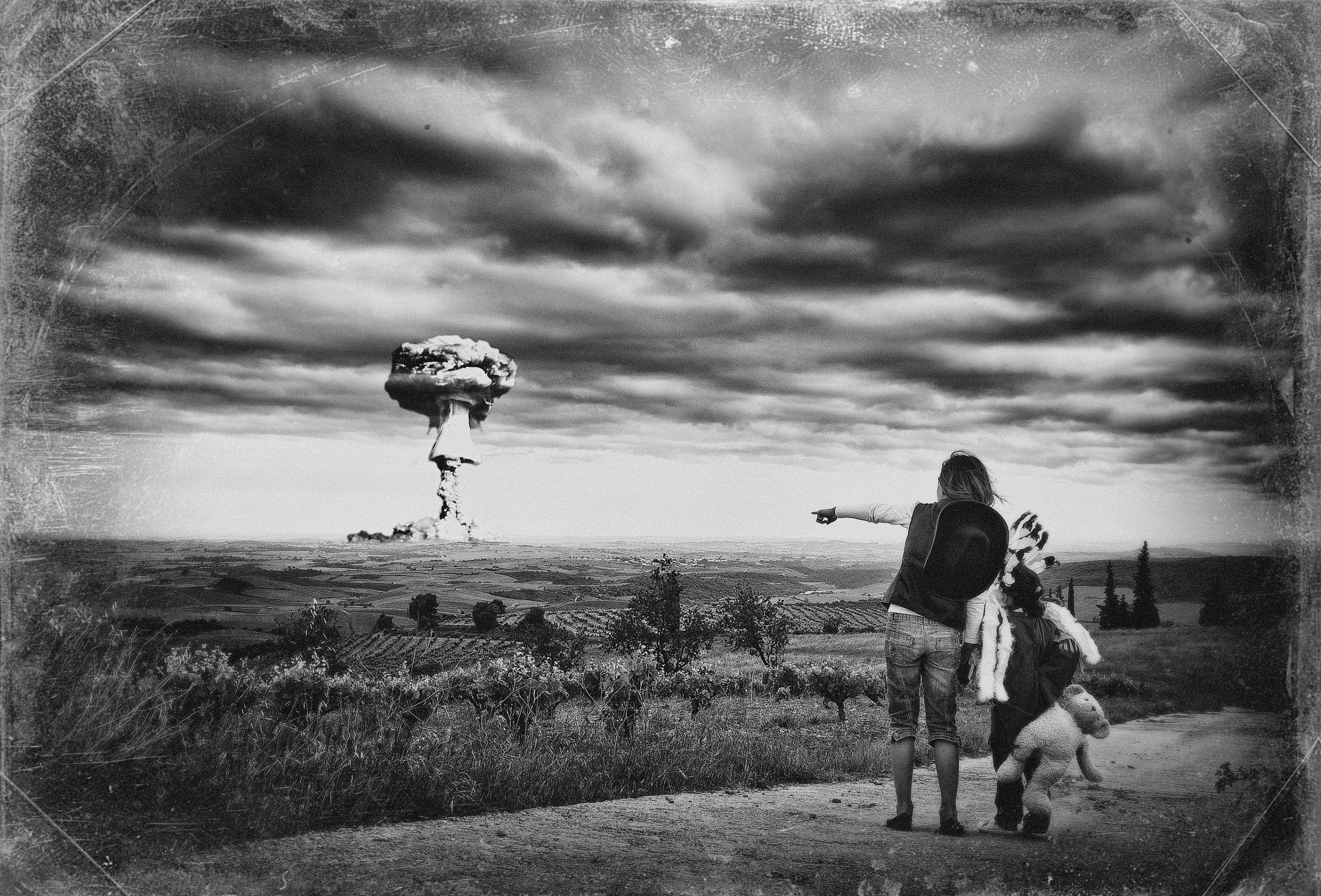 Photograph Mother do you think they'll drop the bomb? by David Tremblay on 500px