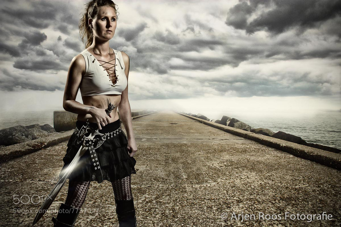 Photograph Swordgirl by Arjen Roos on 500px