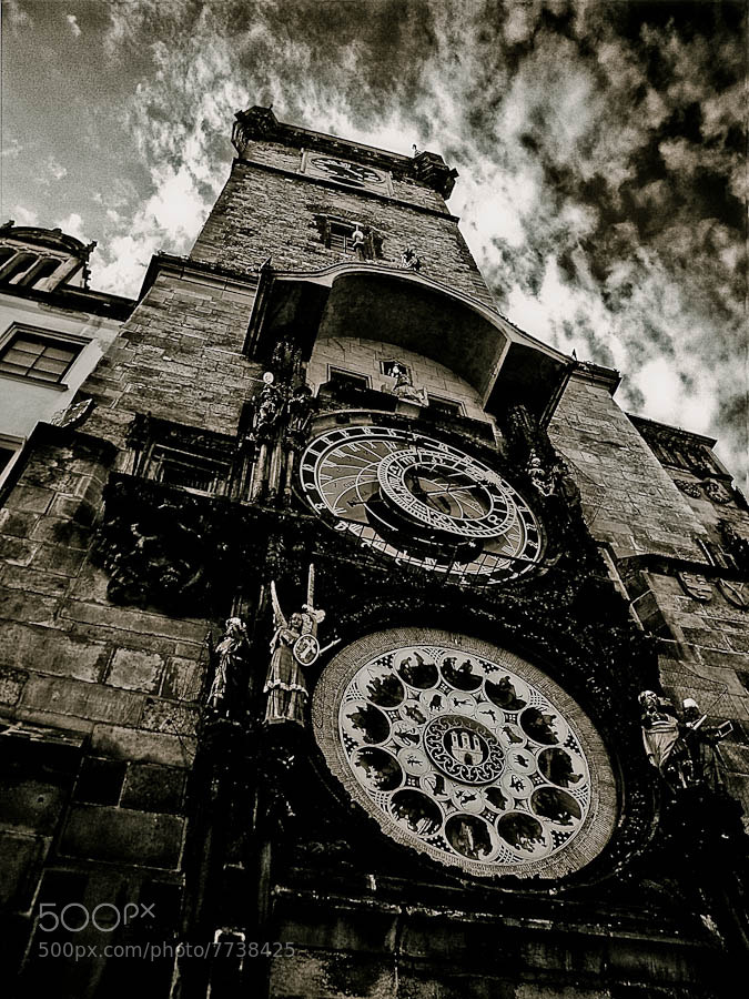 Photograph Prague Astronomical Clock by Carlos Aledo on 500px