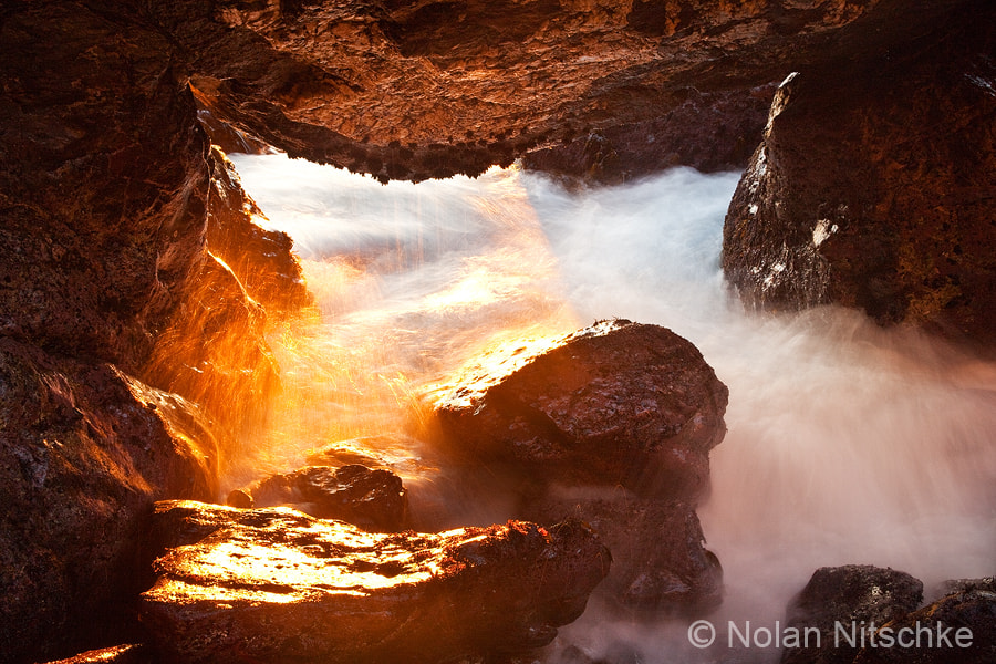 Photograph Catalina Cave by Nolan Nitschke on 500px