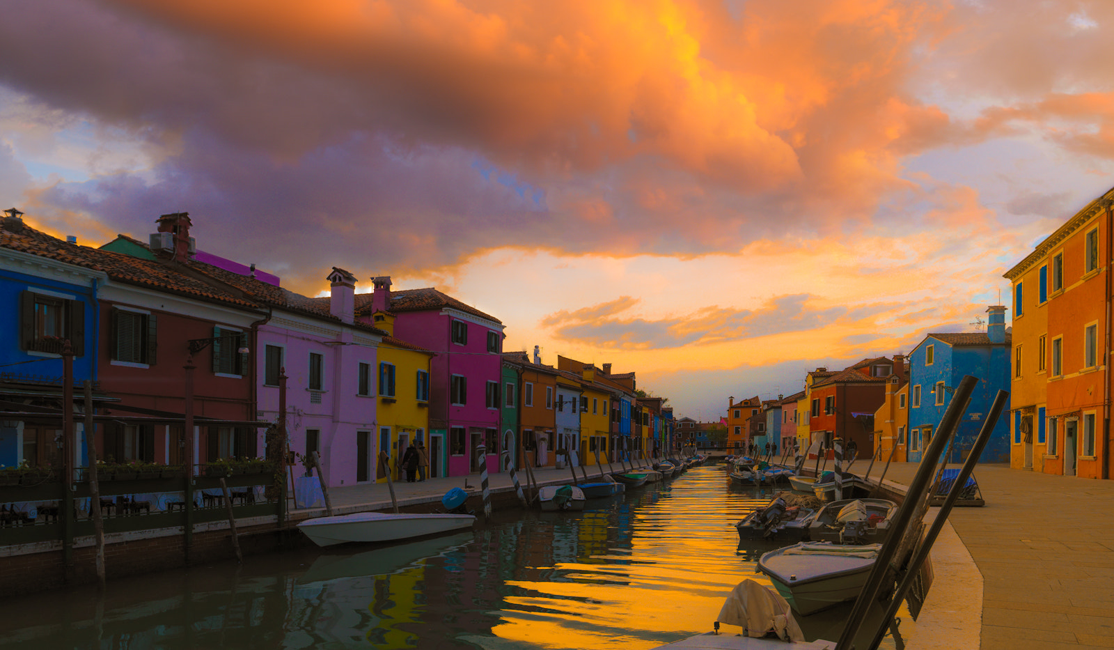 Photograph Burano sunset #1 by Richard Desmarais on 500px