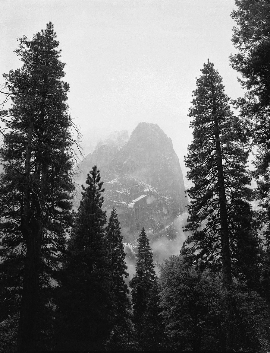 Photograph First Snow, Cathedral Spires, Yosemite NP by Pete Paul on 500px