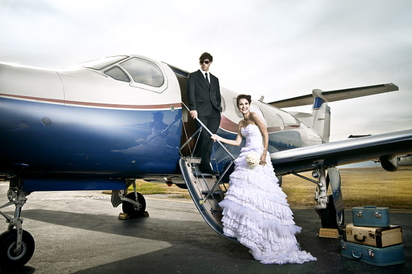 Photograph Airplane Wedding by Nuno Silva on 500px