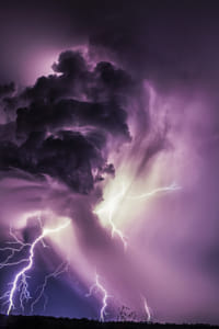 Updraft Lightning by Brian Wilson on 500px