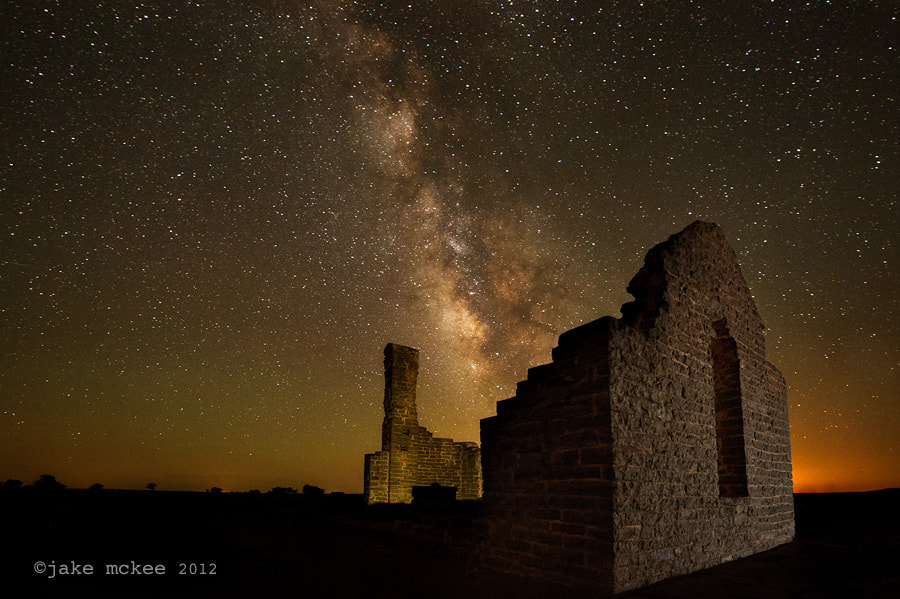 Photograph Milky Way Ruins  by Jake  McKee on 500px