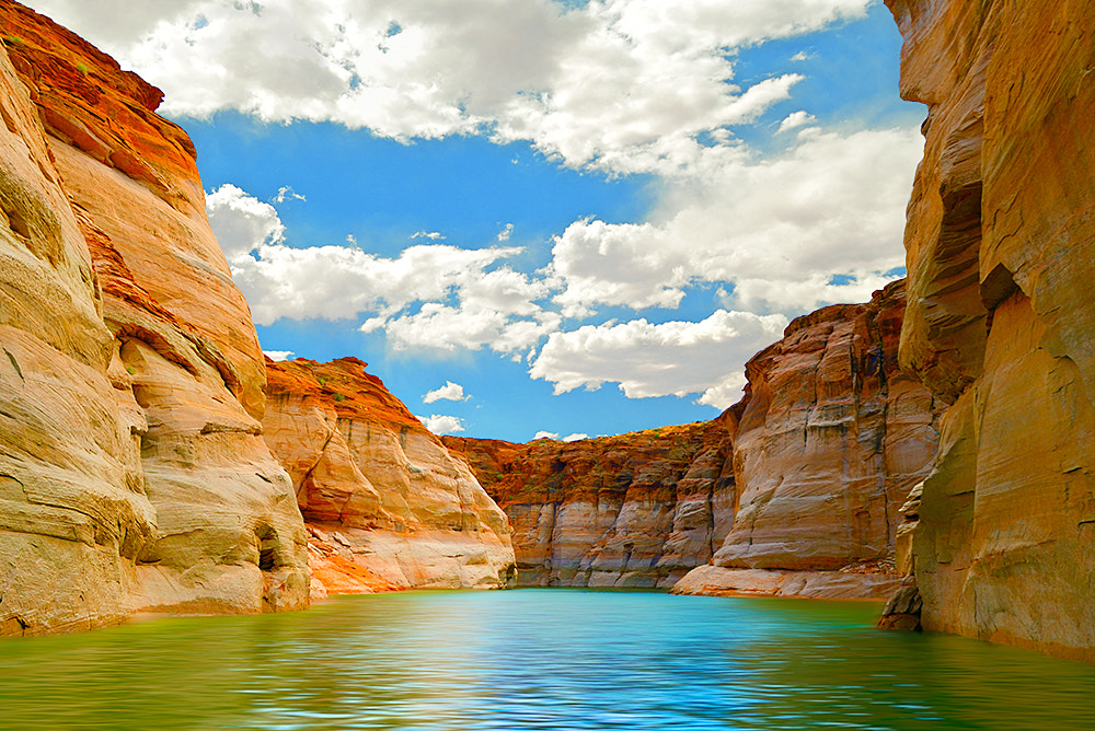 Photograph Canyons at Lake Powell, AZ by Lester Garcia on 500px