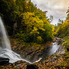 Постер, плакат: Dry Falls in the Autumn