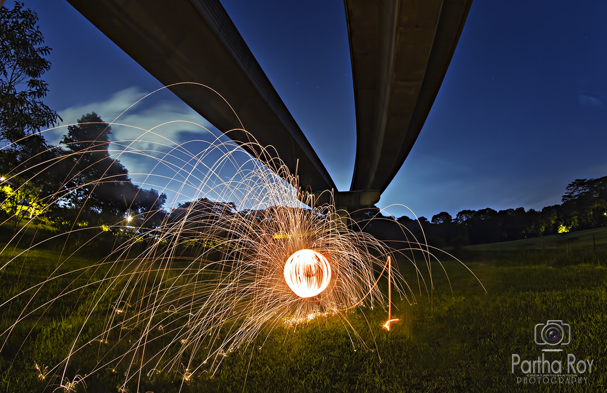 Photograph Fire Ball by Partha Roy on 500px