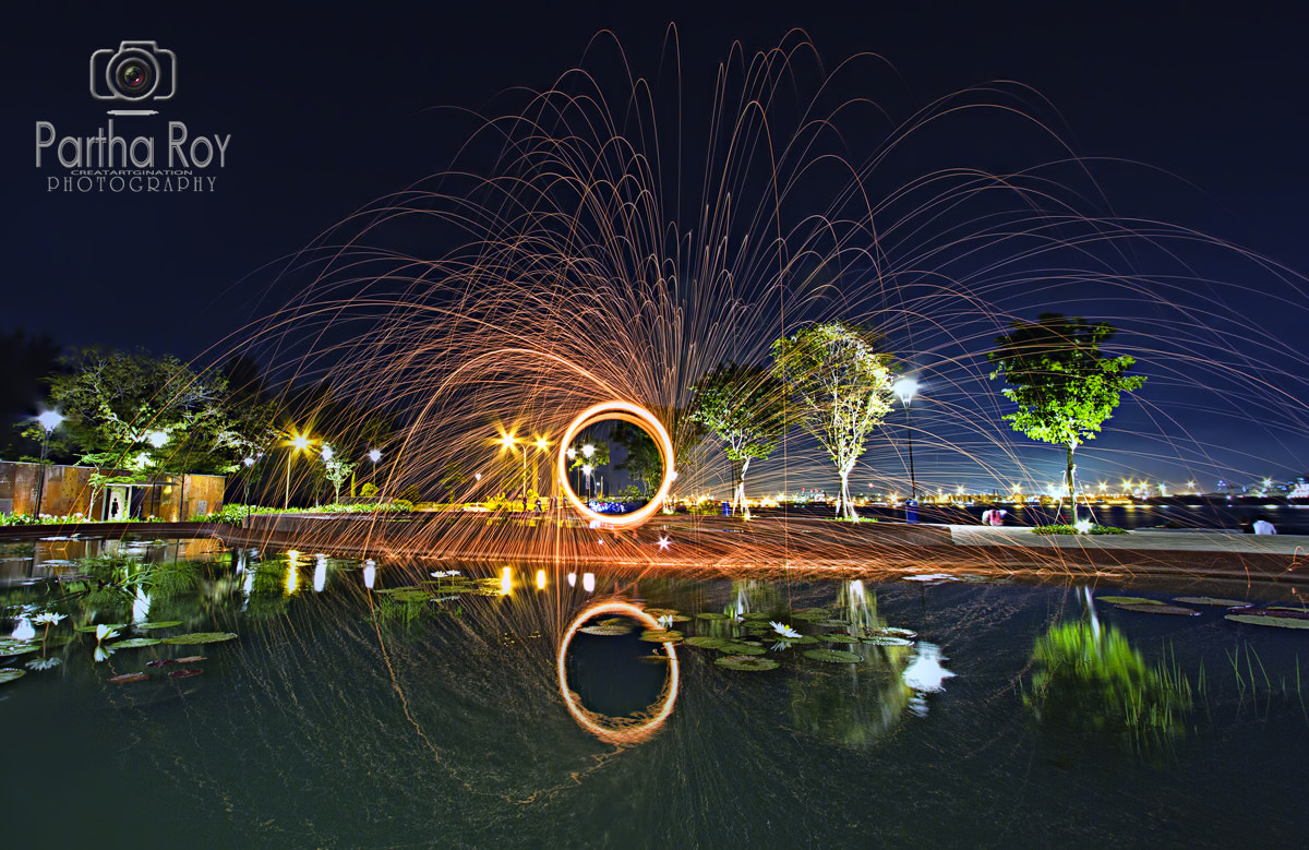 Photograph Fire Circle by Partha Roy on 500px
