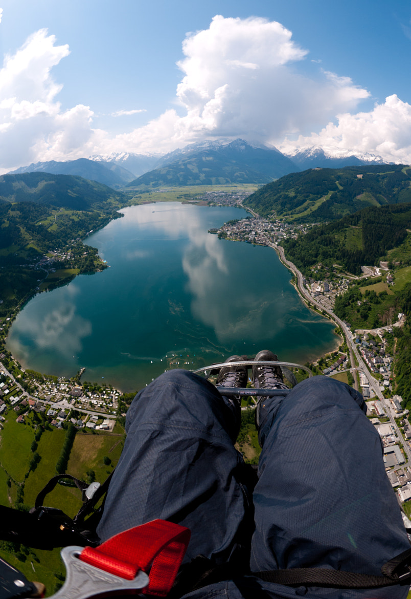 Photograph Paragliding Zell am See by David Bengtsson on 500px