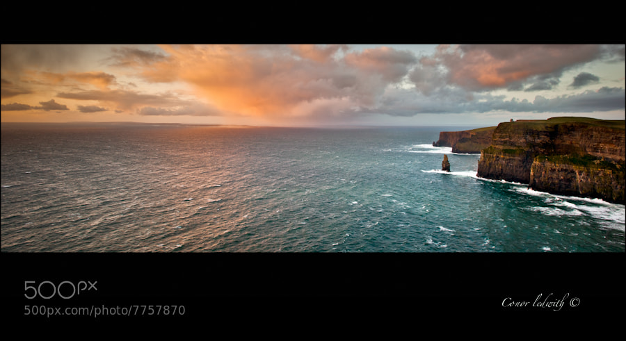 Photograph Cliffs Of Moher by conor ledwith on 500px